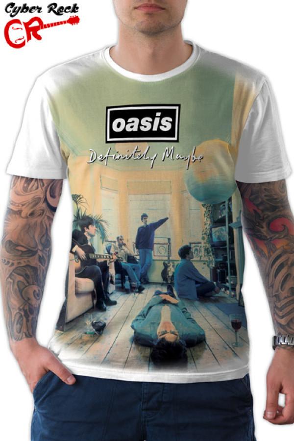 Camiseta Oasis - Definitely Maybe