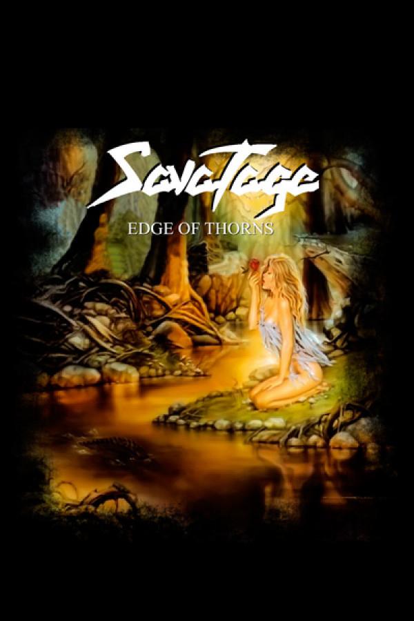 Camiseta Savatage - Edge Of Thorns