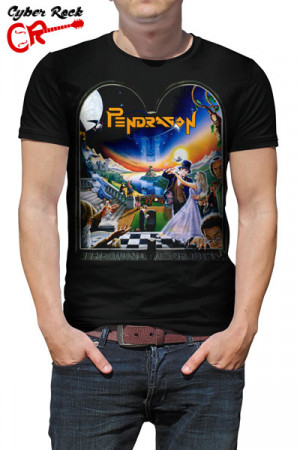 Camiseta Pendragon - The Window of Life