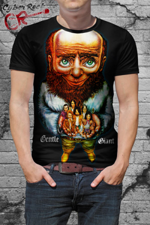 Camiseta Gentle Giant