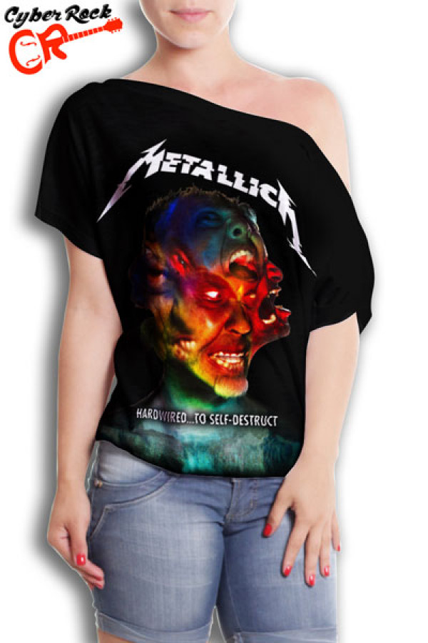 Blusinha  Metallica Hardwired
