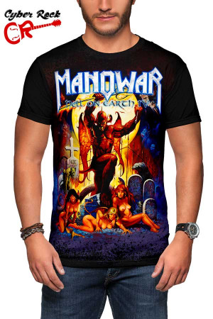 Camiseta Manowar Hell on Earth IV