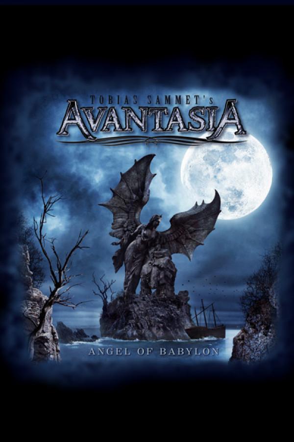 Camiseta Avantasia Angel of Babylon