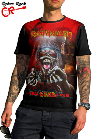 Camiseta Iron Maiden a Real Dead One