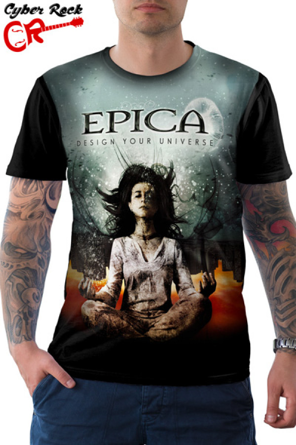 Camiseta Epica Design Your Universe
