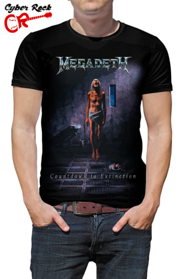 Camiseta Megadeth Countdown To Extinction