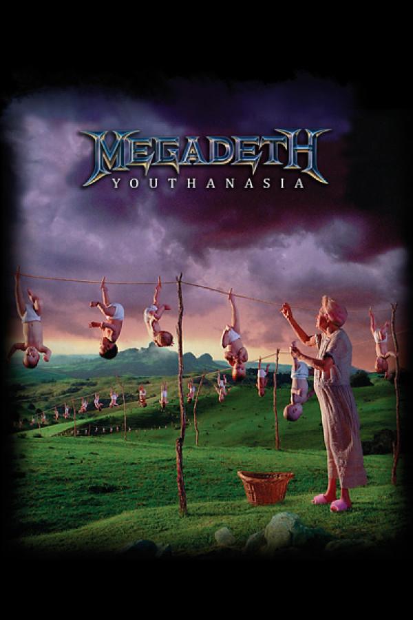 Camiseta Megadeth Youthanasia