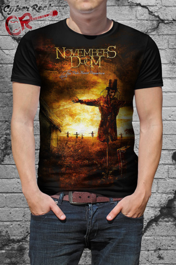 Camiseta Novembers Doom The Pale Haunt Departure