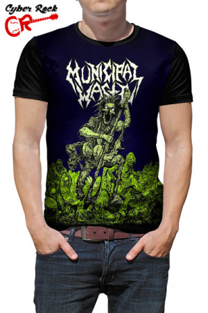 Camiseta Municipal Waste