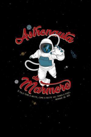 Blusinha Nacional Astronauta de Mármore