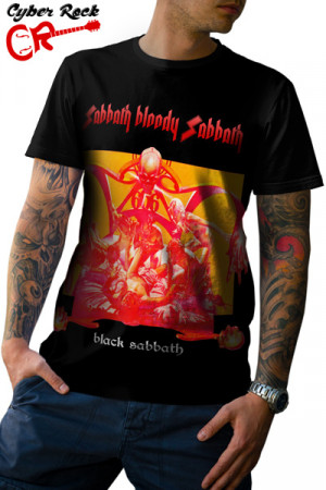 Camiseta Black Sabbath - Sabbath Bloody Sabbath