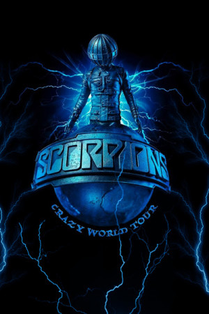 Blusinha Scorpions Crazy world tour