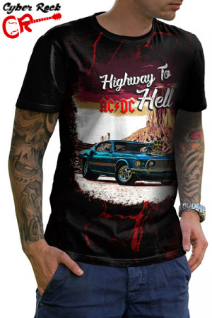 Camiseta AC DC Highway to Hell I