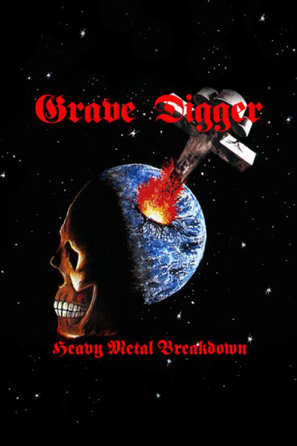 Blusinha Grave Digger Heavy Metal Breakdown
