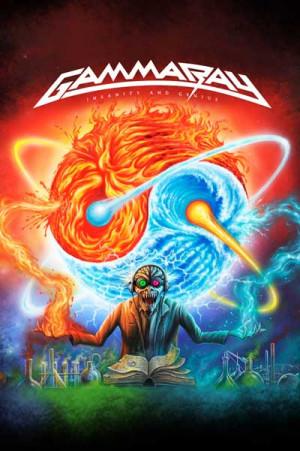 Camiseta Gamma Ray Insanity and Genius a