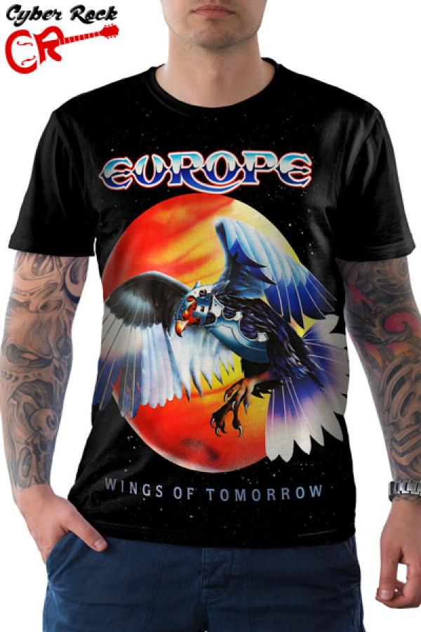 Camiseta Europe Wings of Tomorrow
