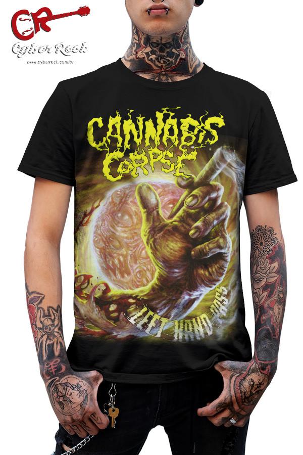 Camiseta Cannabis Corpse Left Hand Pass