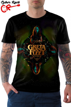 Camiseta Greta Van Fleet Anthem