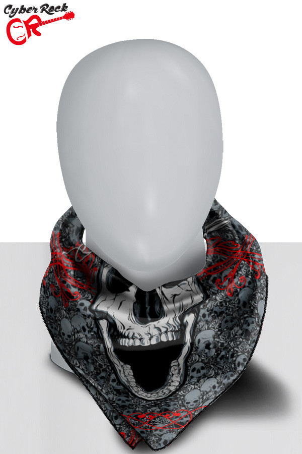 Bandana Dark Skull