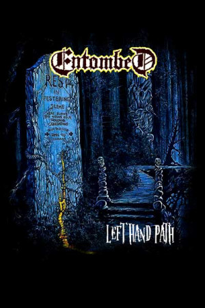 Camiseta Entombed Left Hand Path