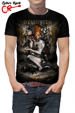 Camiseta Draconian A Rose for the Apocalypse