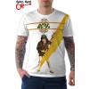 Camiseta AC/DC High Voltage Branca