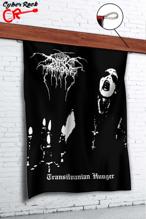 Bandeira Darkthrone Transilvanian Hunger