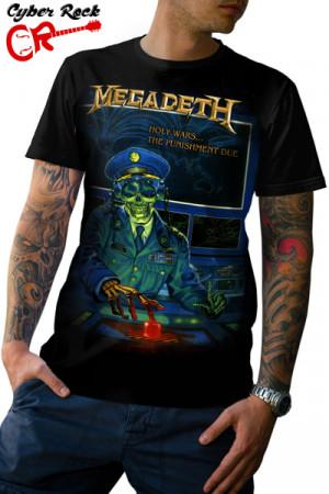 Camiseta Megadeth Holy Wars