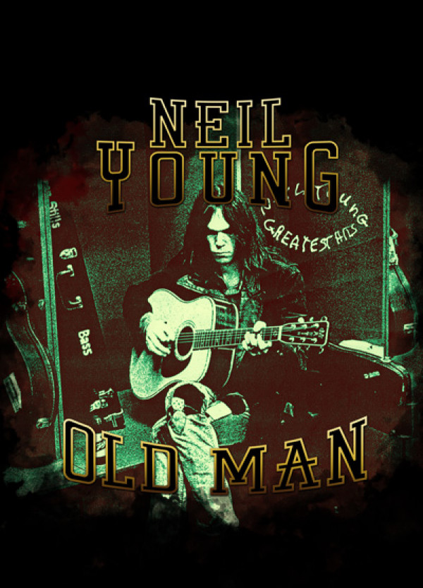 Camiseta Neil Young