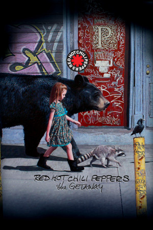 Regata Red Hot Chili Peppers The Getaway