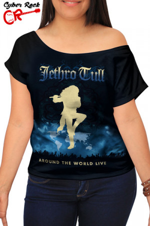 Blusinha Jethro Tull Around the World Live