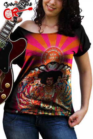 Blusinha Jimi Hendrix Bold as Love