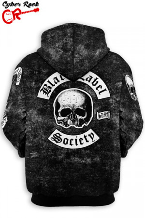 Blusa Moletom Black Label Society