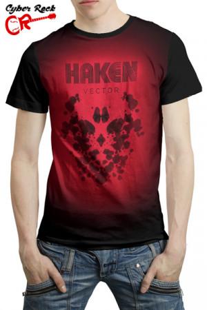 Camiseta Haken Vector