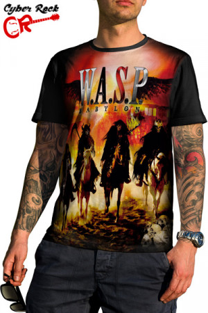 Camiseta Wasp- Babylon
