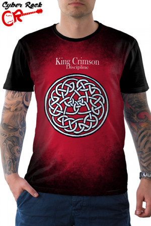 Camiseta King Crimson Discipline