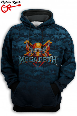 Blusa Capuz Megadeth