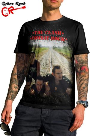 Camiseta The Clash-Combat Rock
