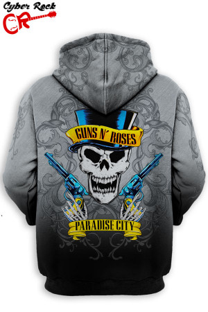 Blusa Moletom Guns n Roses Paradise City