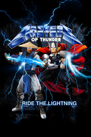 Camiseta Master Of Thunder Ride The Lightning