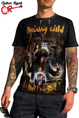 Camiseta Running Wild - Black Hand Inn