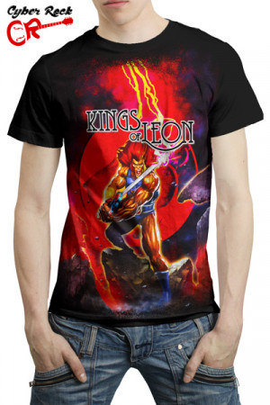 Camiseta Kings of Leon Thundercats