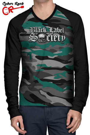 Raglan Manga Longa Black Label Society