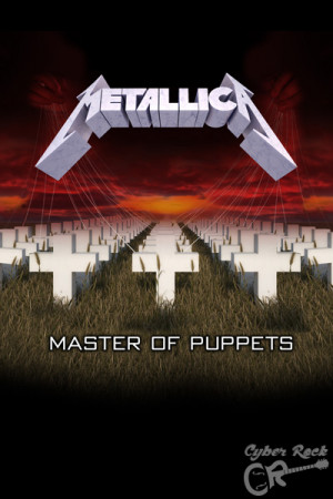 Almofada Banda Metallica Master of Puppets
