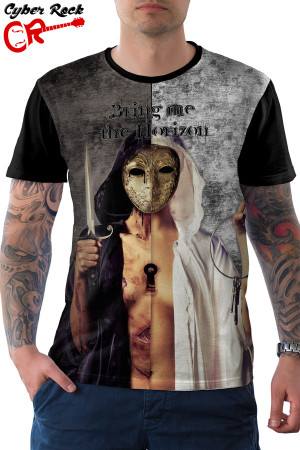 Camiseta Bring me the horizon There Is A Hell, Believe Me