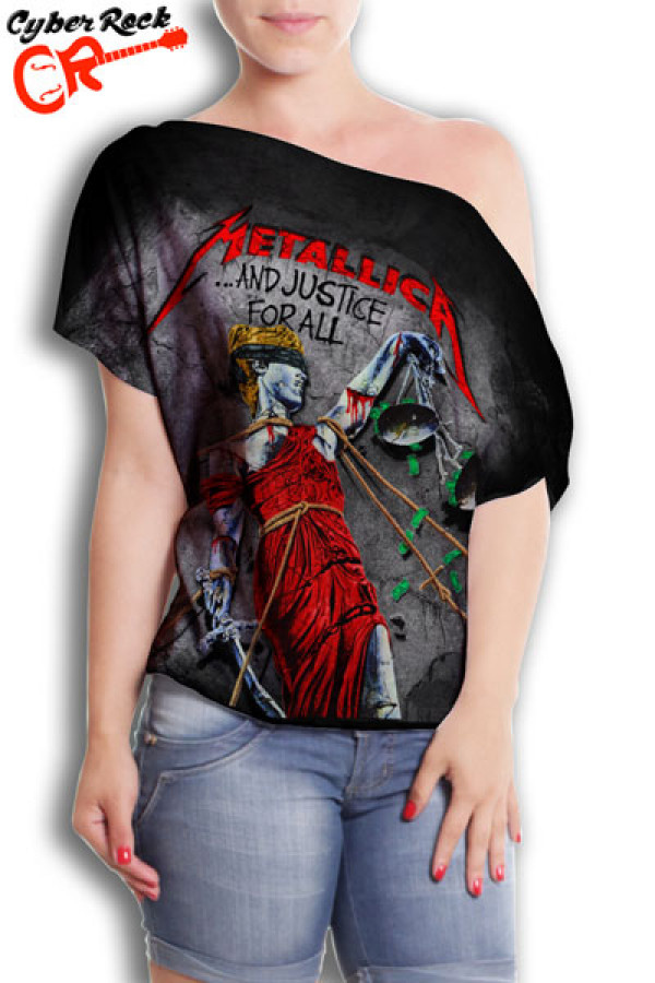 Blusinha  Metallica And Justice For All