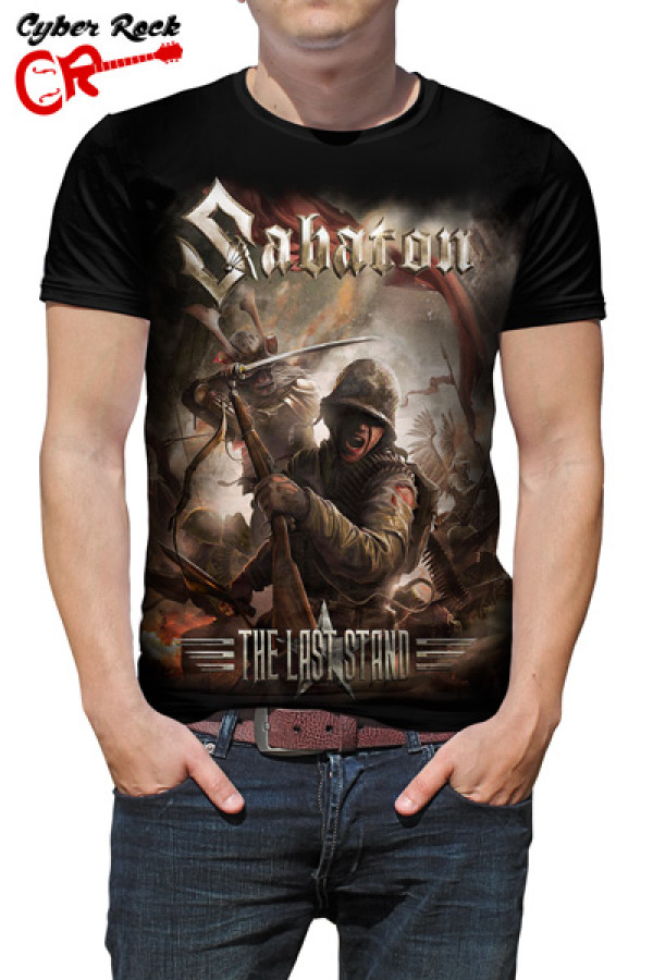 Camiseta Sabaton - The Last Stand Cover