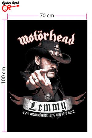 Bandeira Motorhead Lemmy
