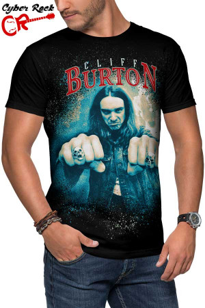 Camiseta Cliff Burton