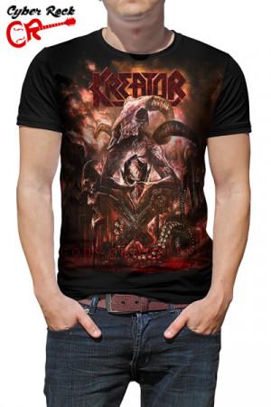 Camiseta Kreator Gods of Violence